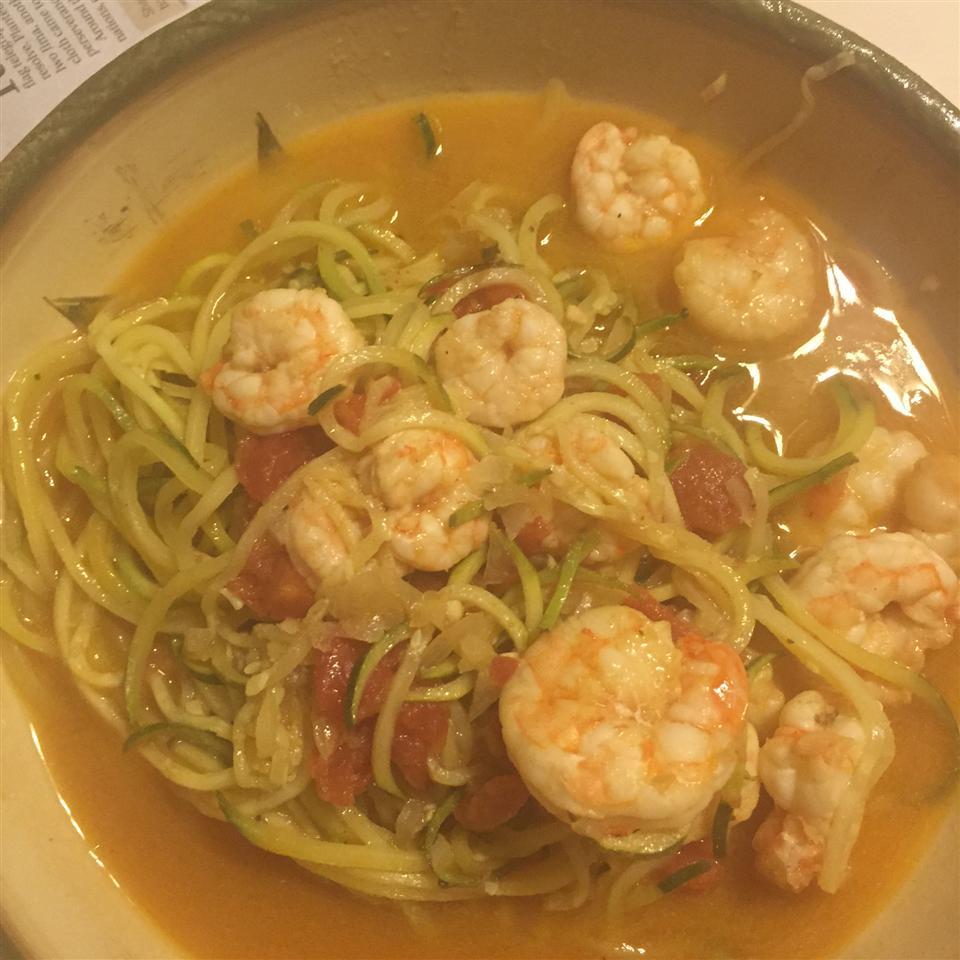 Shrimp Scampi Zucchini