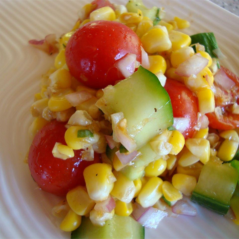 Cherry Tomato Corn Salad pelicangal