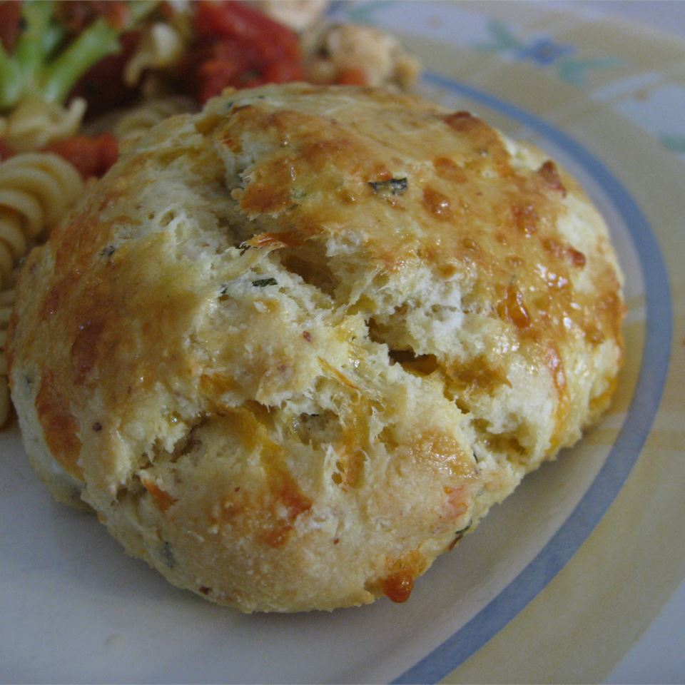 Easy Cheddar Biscuits with Fresh Herbs Dianne