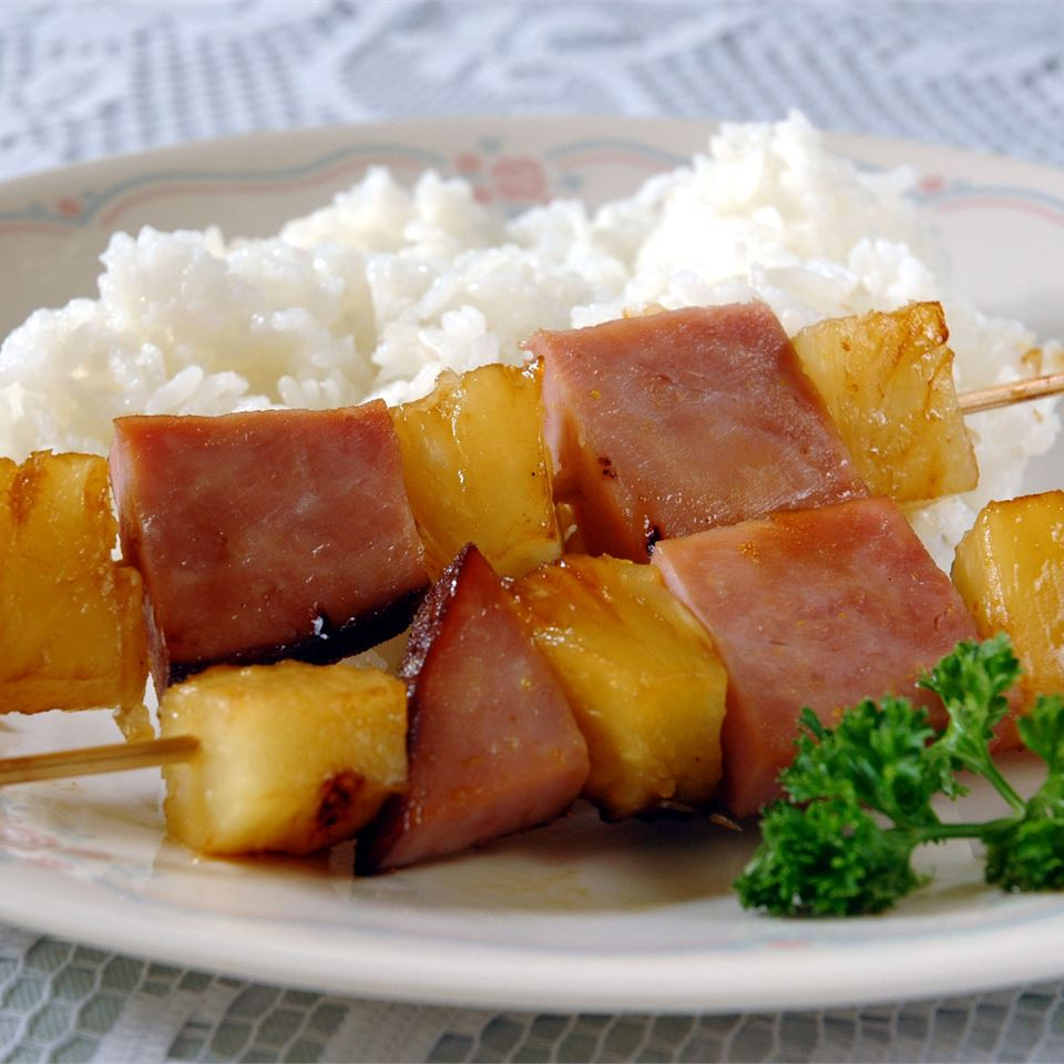 Ham and Pineapple Kabobs Lindsay Perejma