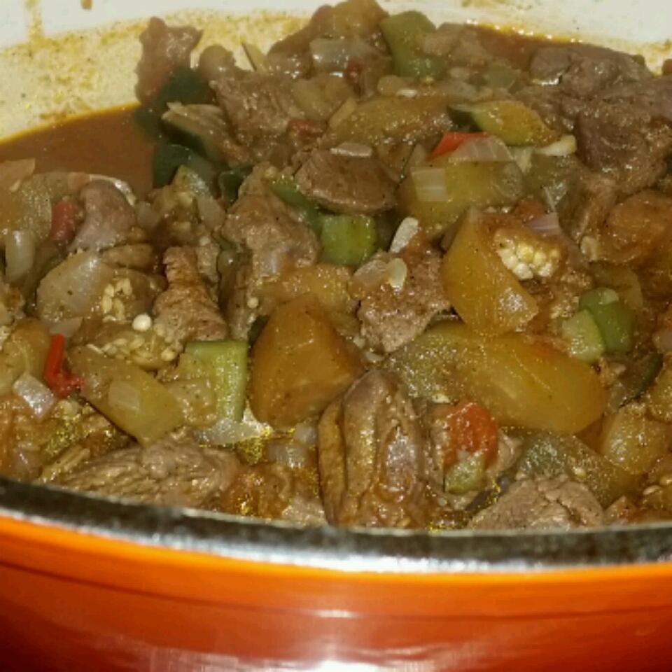 Eggplant and Lamb Stew Sophia Ibrahim