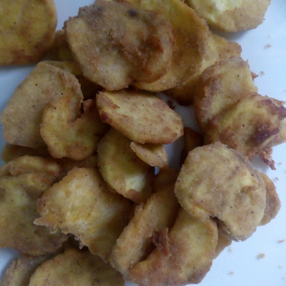 Fried Cinnamon Sweet Potato Chips Chioma