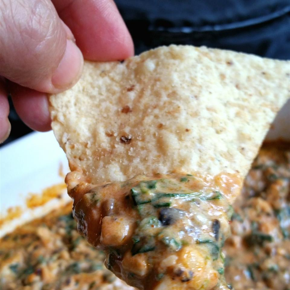 Hot Mexican Spinach Dip