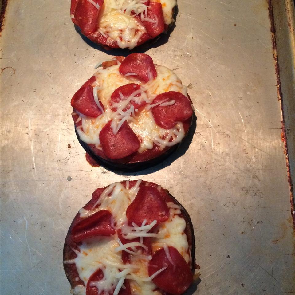 Eggplant Pizzas Hillie Tate Hedgecock