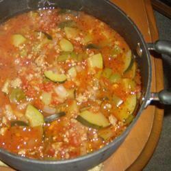 Zucchini Soup III kitty