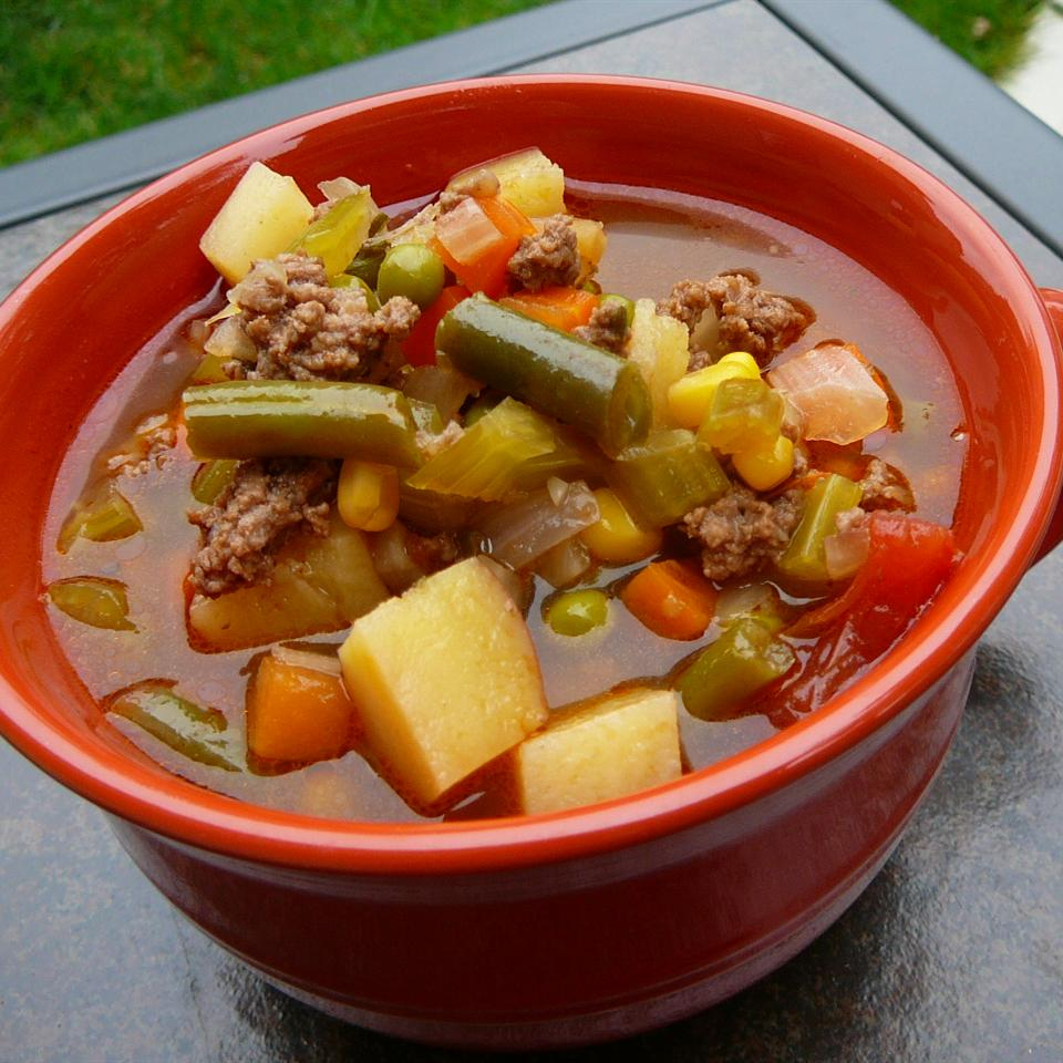 Hobo Beef and Vegetable Soup Molly