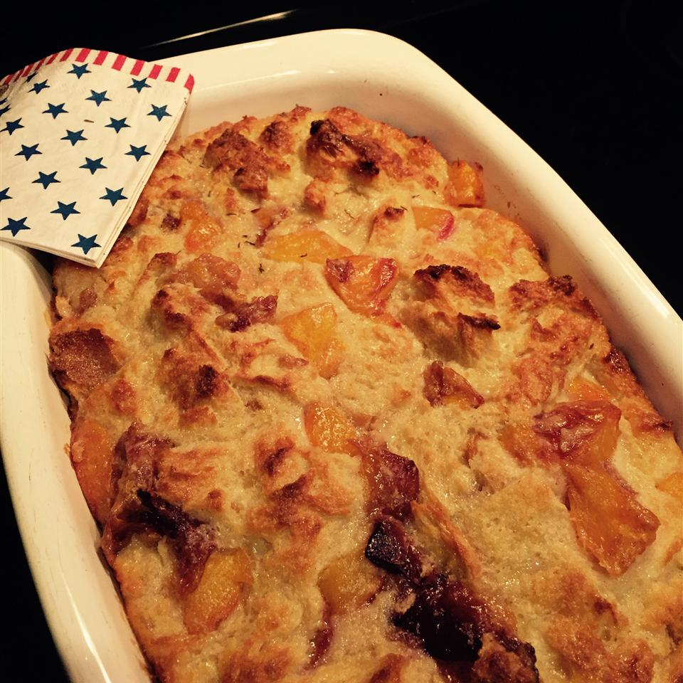 My Peach Bread Pudding bettyjboop13