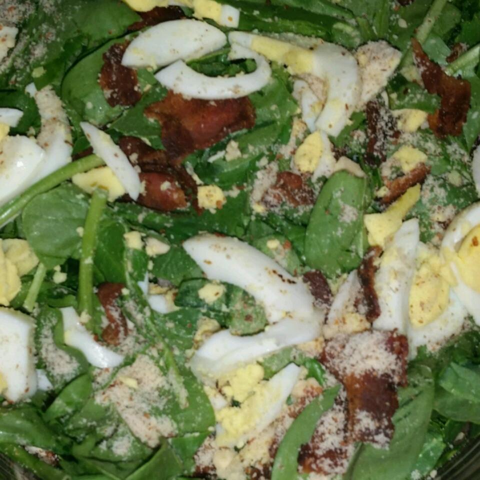 The Best Spinach Salad caseykeith