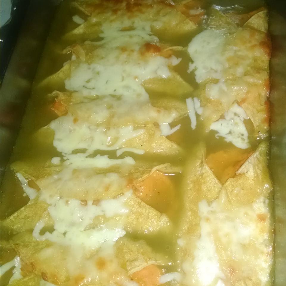 Sweet Potato Enchiladas Shayla