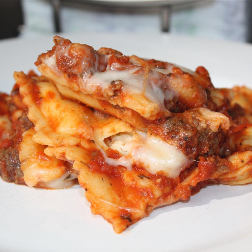 Randy's Slow Cooker Ravioli Lasagna sanzoe