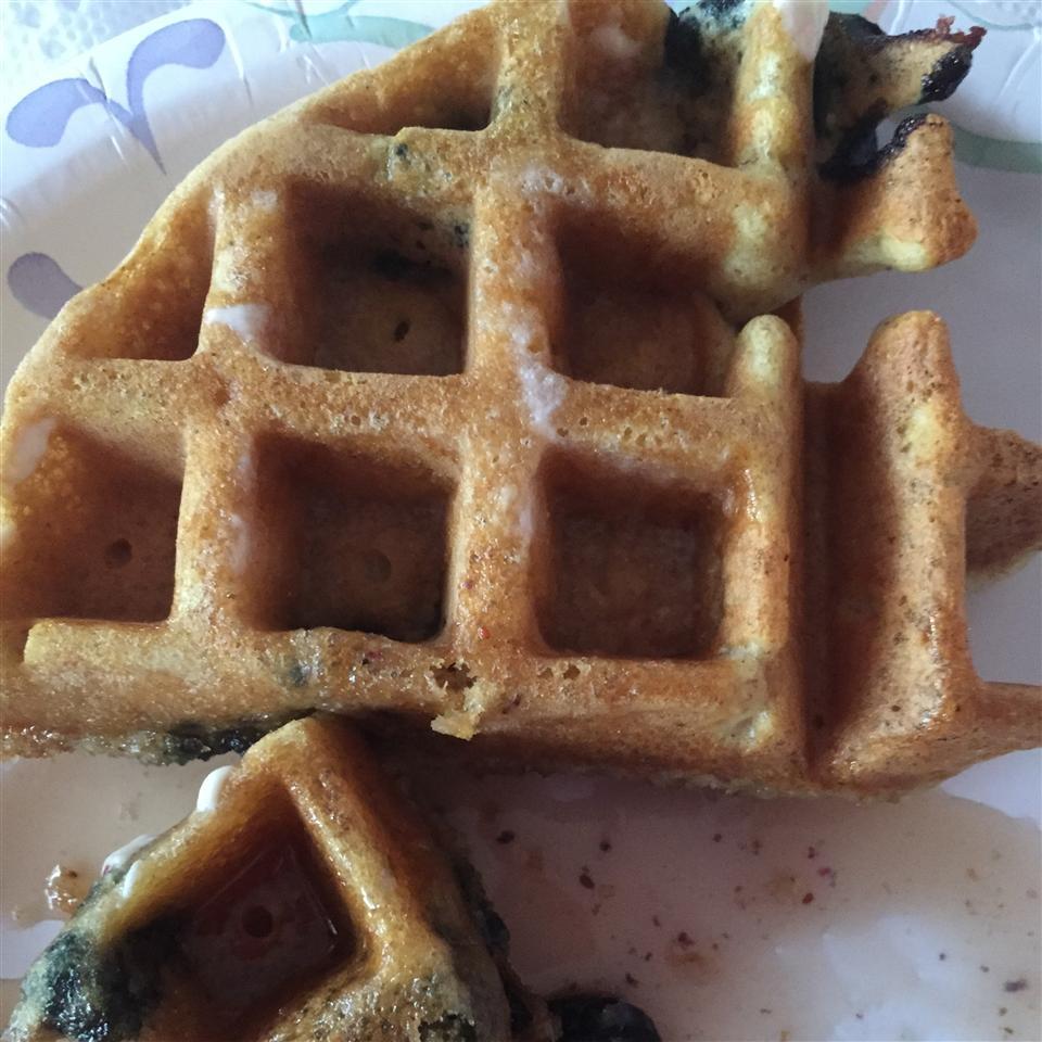 Blueberry Flavored Waffles Lori Slis