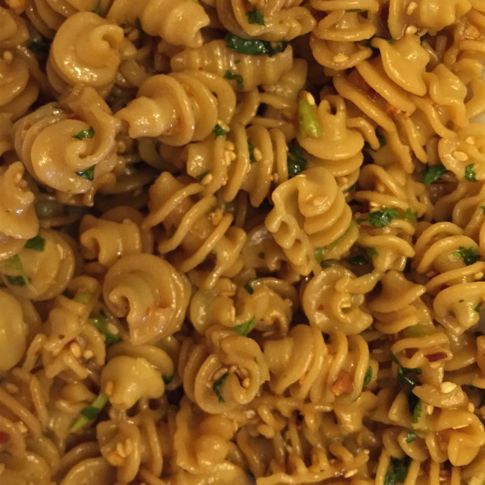 Norris' Sesame Pasta Salad Christine Scaletti