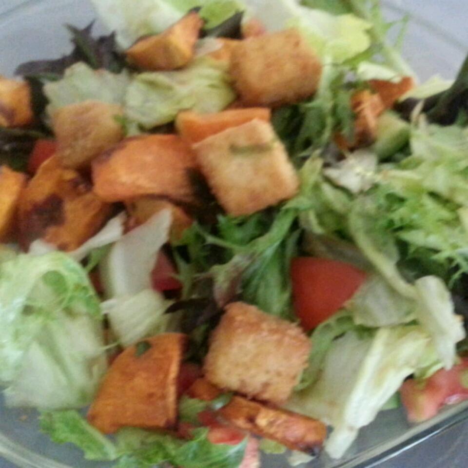 Amazing Crunchy Tofu Salad Dal
