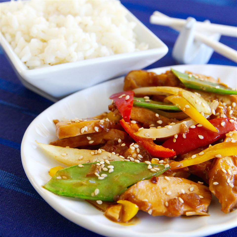 Sesame Chicken for Slow Cooker lutzflcat