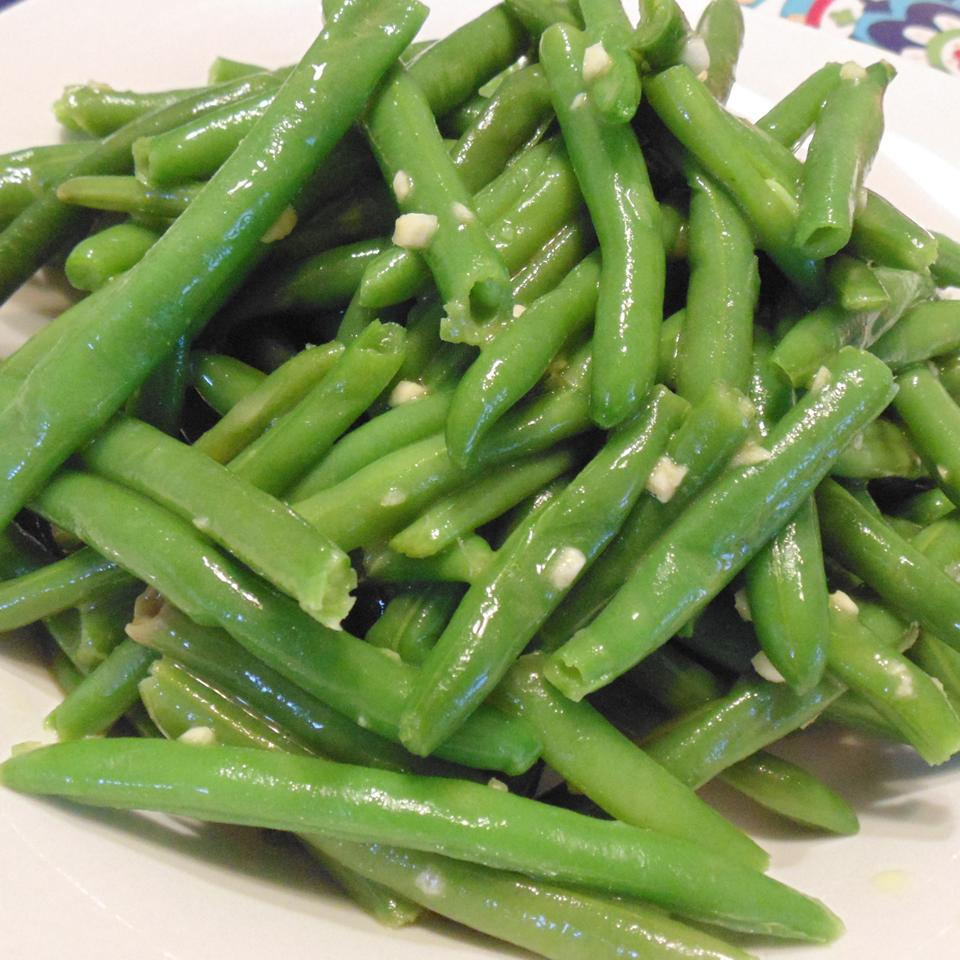 Deluxe Garlic Green Beans