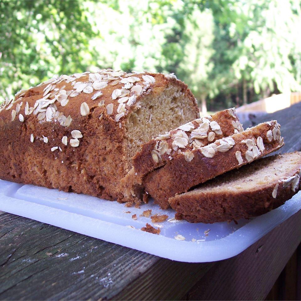 Oatmeal Banana Nut Bread image