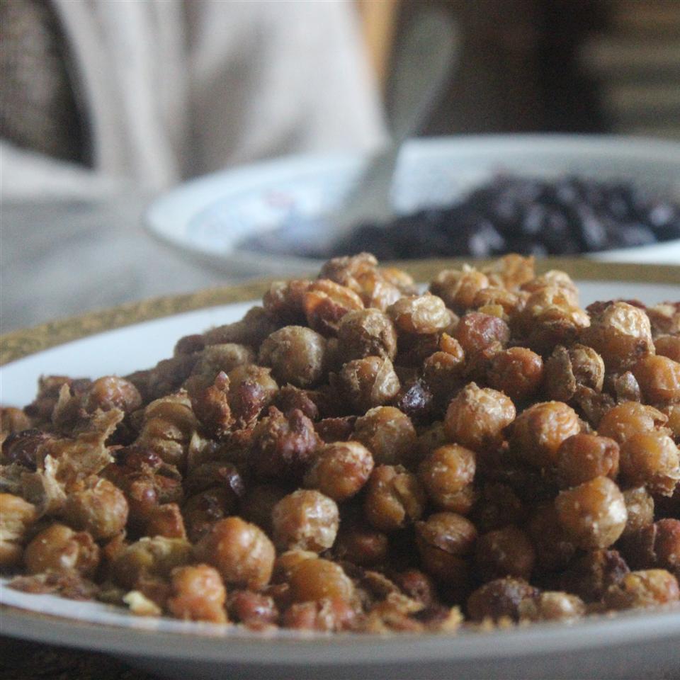 Indian-Spiced Roasted Chickpeas Emma Verdonk