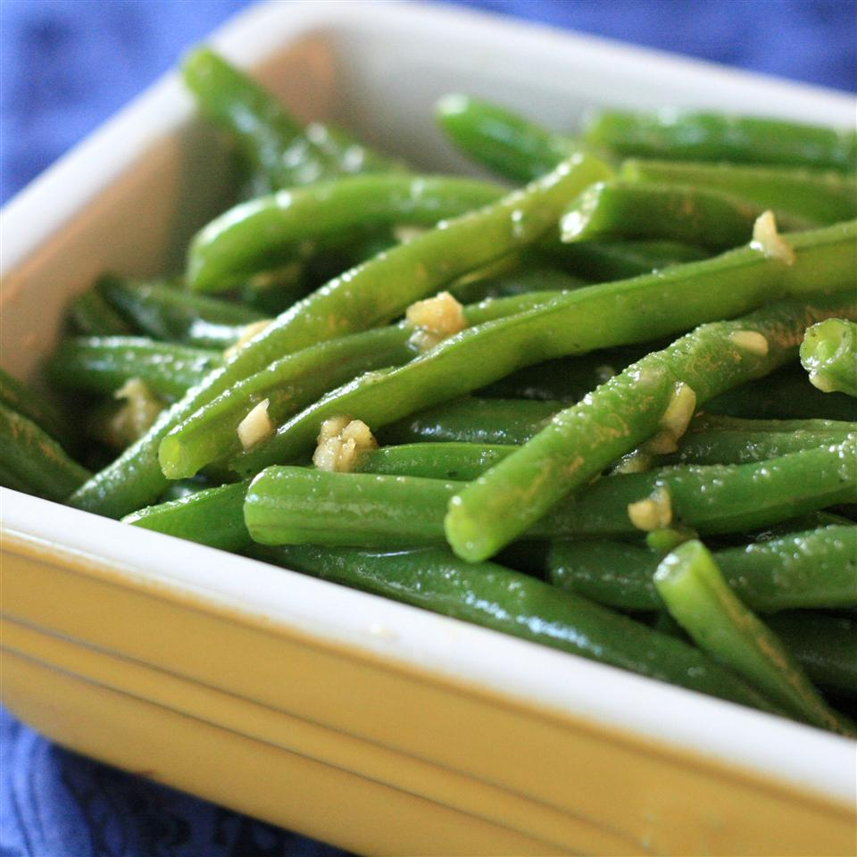 Deluxe Garlic Green Beans France C