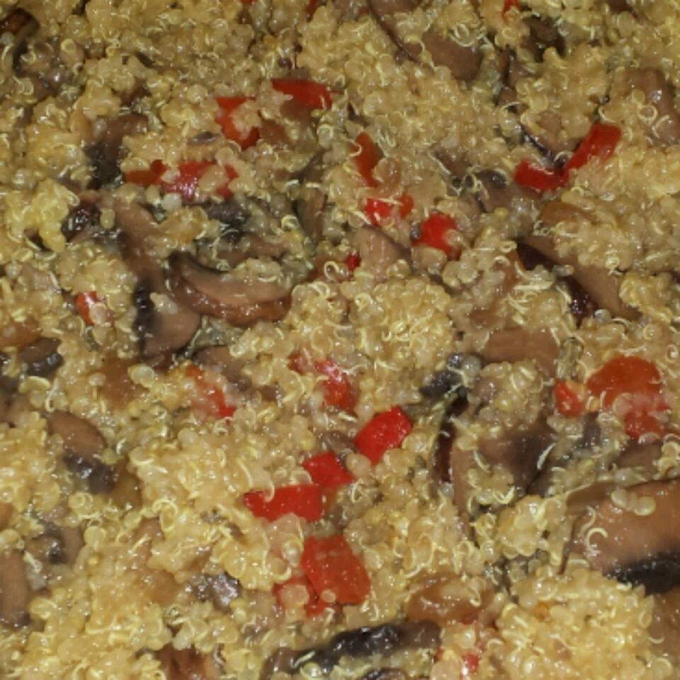 Quinoa Mushroom 'Risotto' Keith