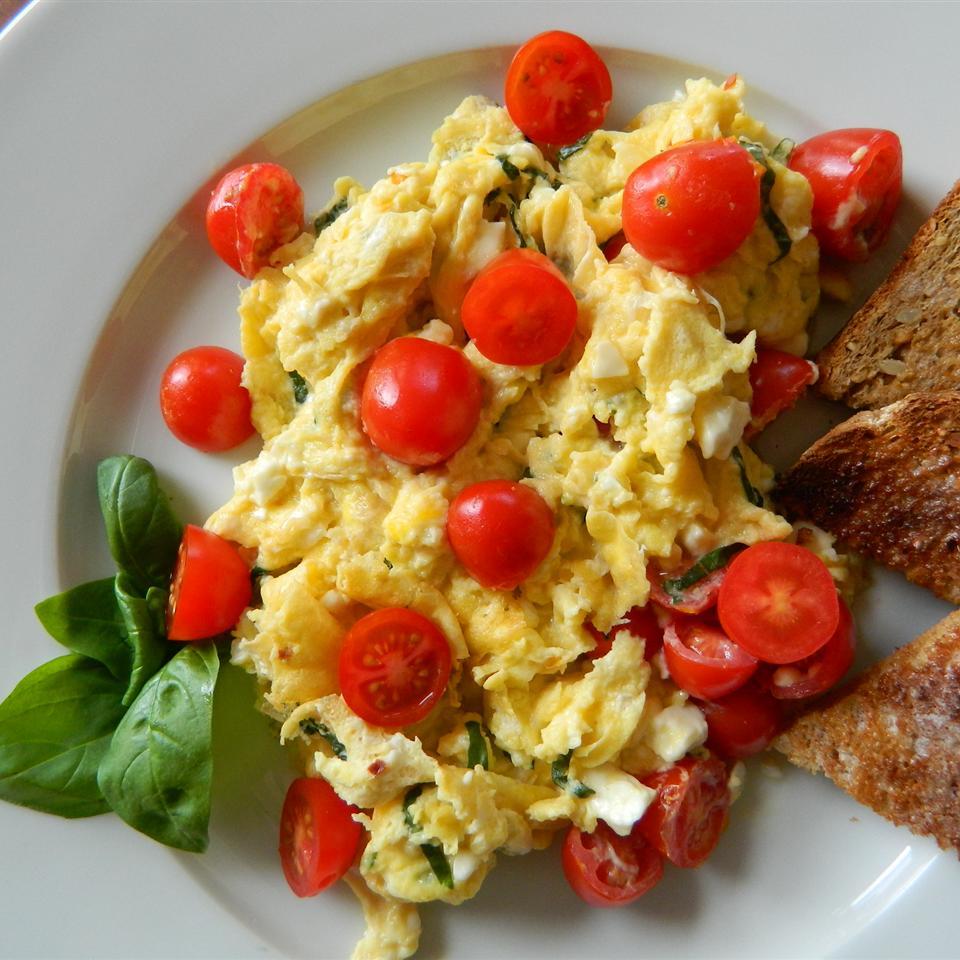 Chef John's Summer Scrambled Eggs mauigirl