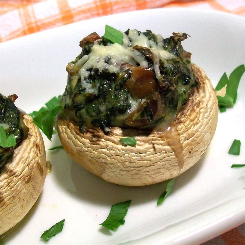 Stuffed Mushrooms with Spinach MOLSON7