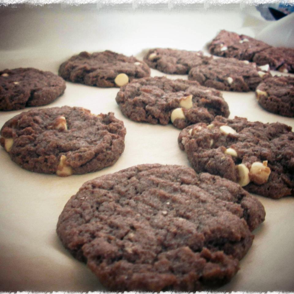 White Chip Chocolate Cookies Gissel