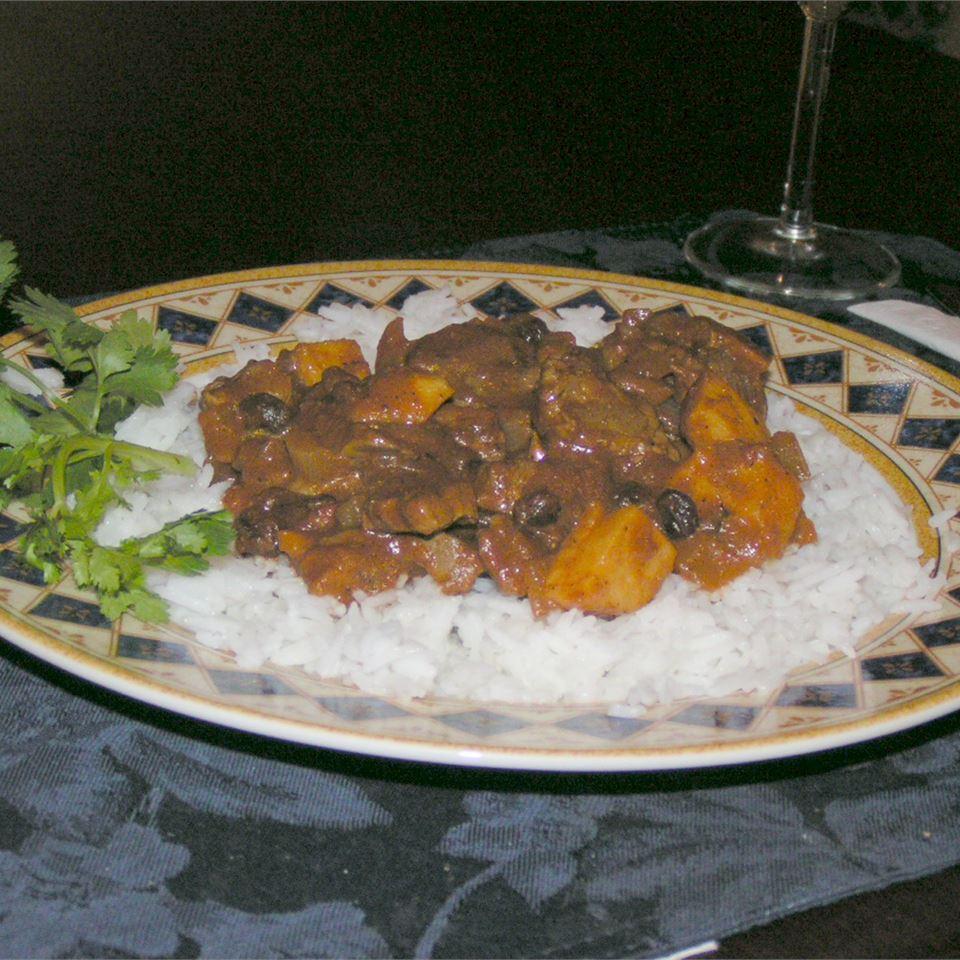 Curried Beef a la Tim myzrahi