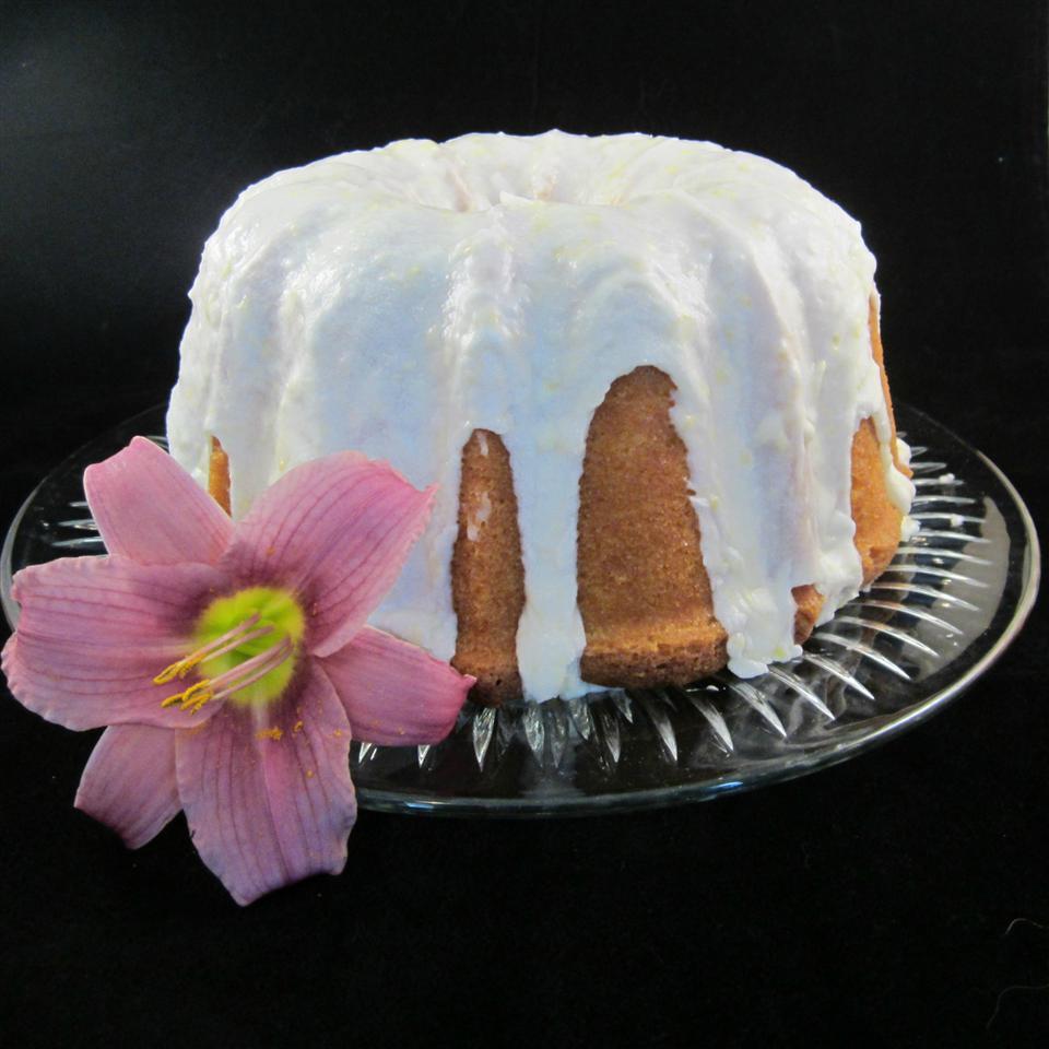 Lemon-Buttermilk Pound Cake with Aunt Evelyn's Lemon Glaze Deb C