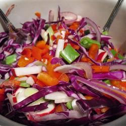 Ruby's Spicy Red Salad