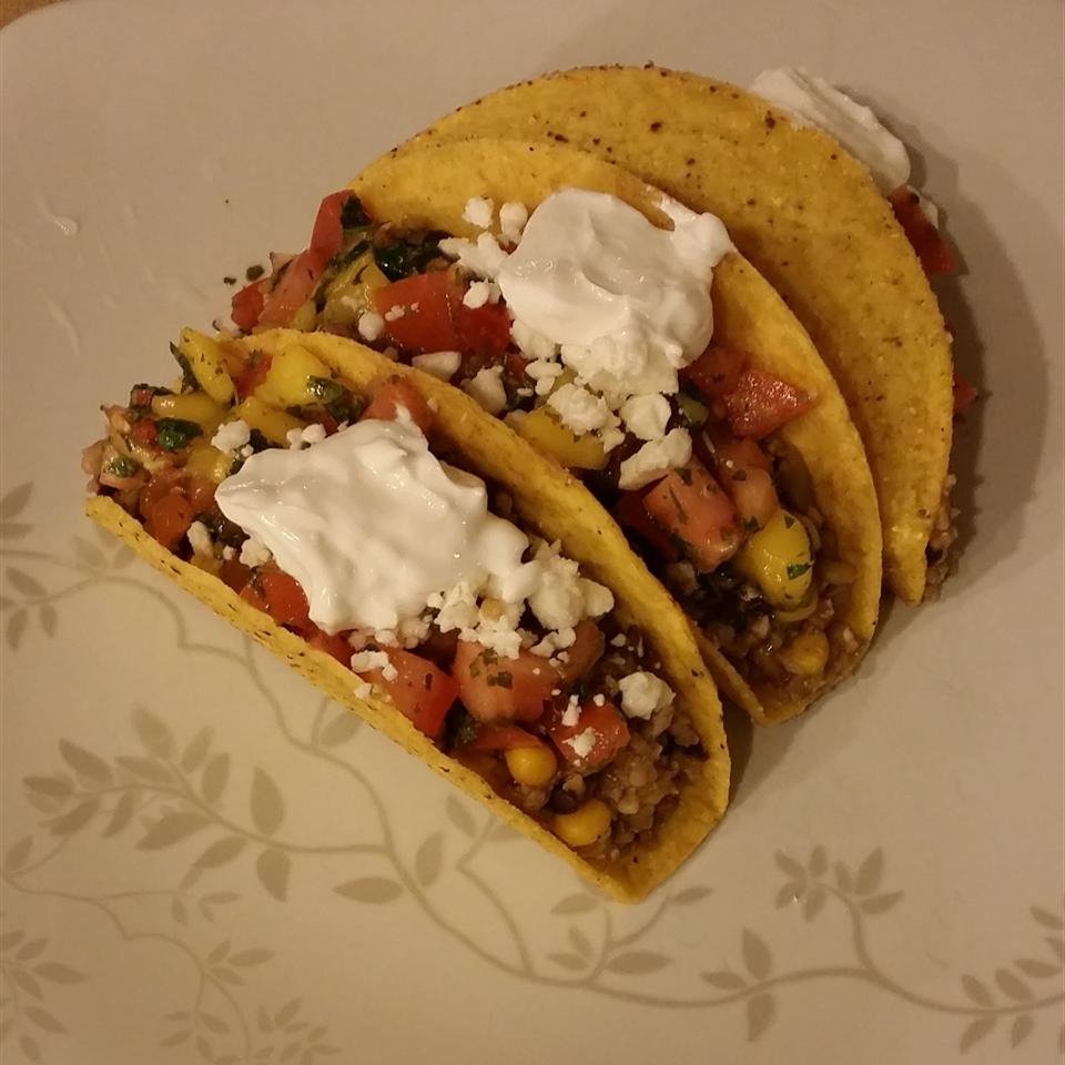 Street Taco with Mango Salsa Bradley Undercofler