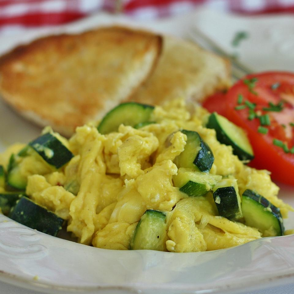 Zucchini with Egg