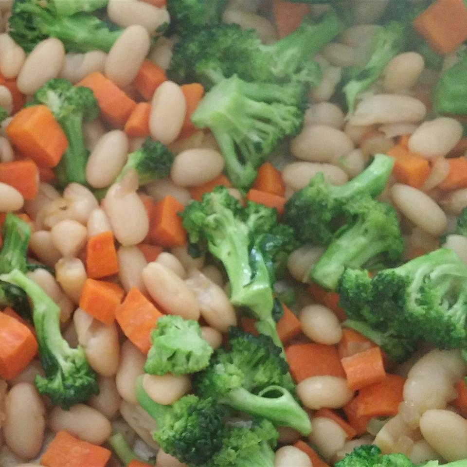 Maple Cannellini Bean Salad with Baby Broccoli and Butternut Squash SAHARA2