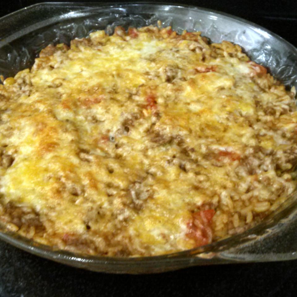 Taco Rice Bake