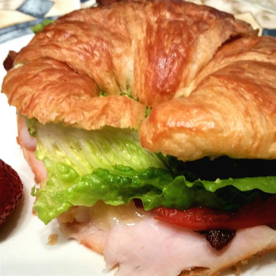 Croissant Club Sandwich Sheila LaLonde