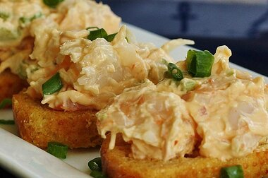 Grandma S Shrimp Salad Sandwiches Recipe Allrecipes