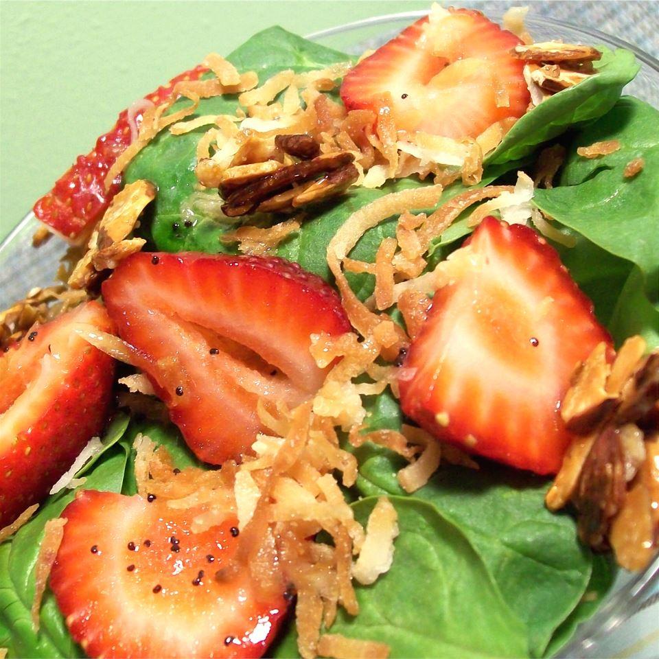 Spinach and Strawberry Daiquiri Salad SunnyByrd