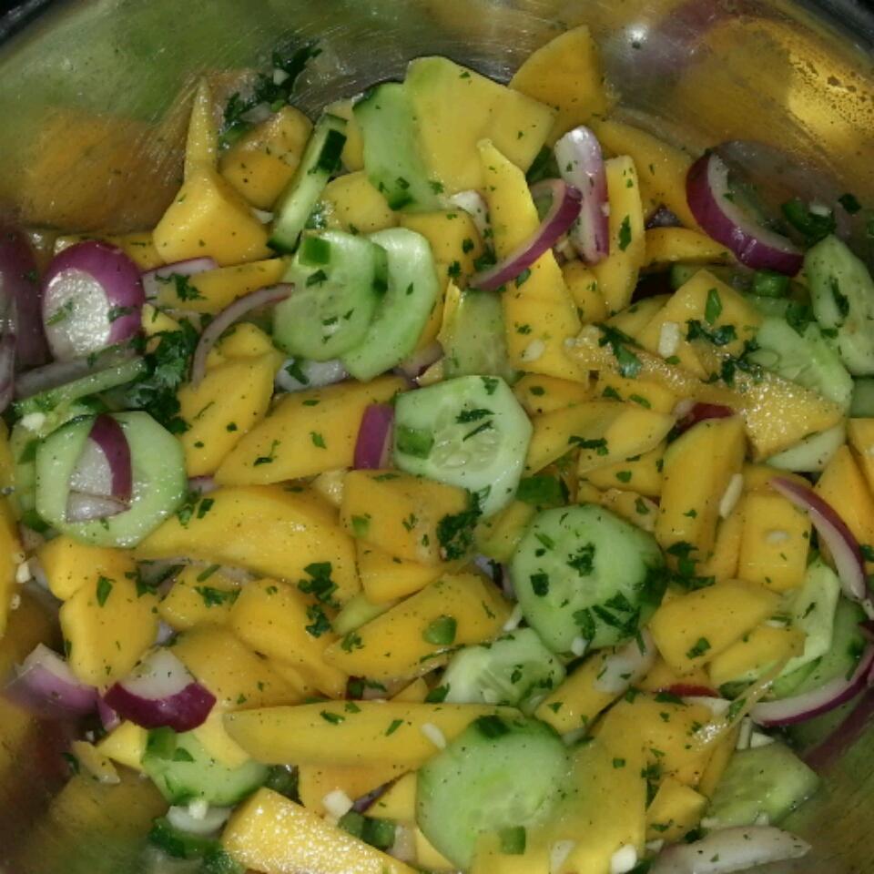 Cucumber-Mango Salsa Lloyd Cornell Adams Sr.