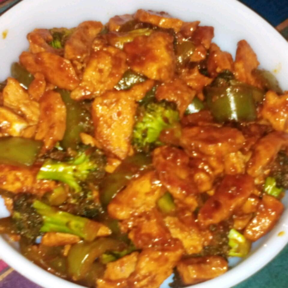 Sweet, Sticky and Spicy Chicken Chef Taz