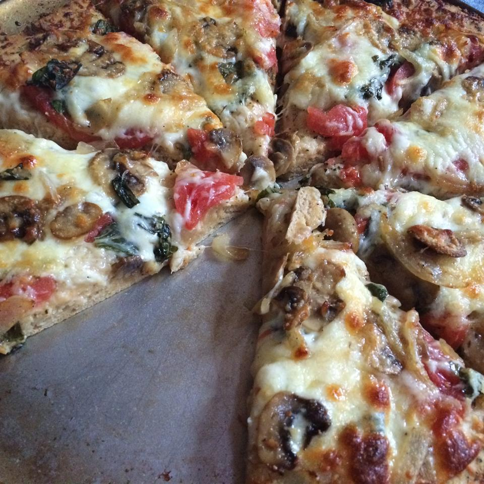 Quick and Easy Pizza Crust Tiffany S