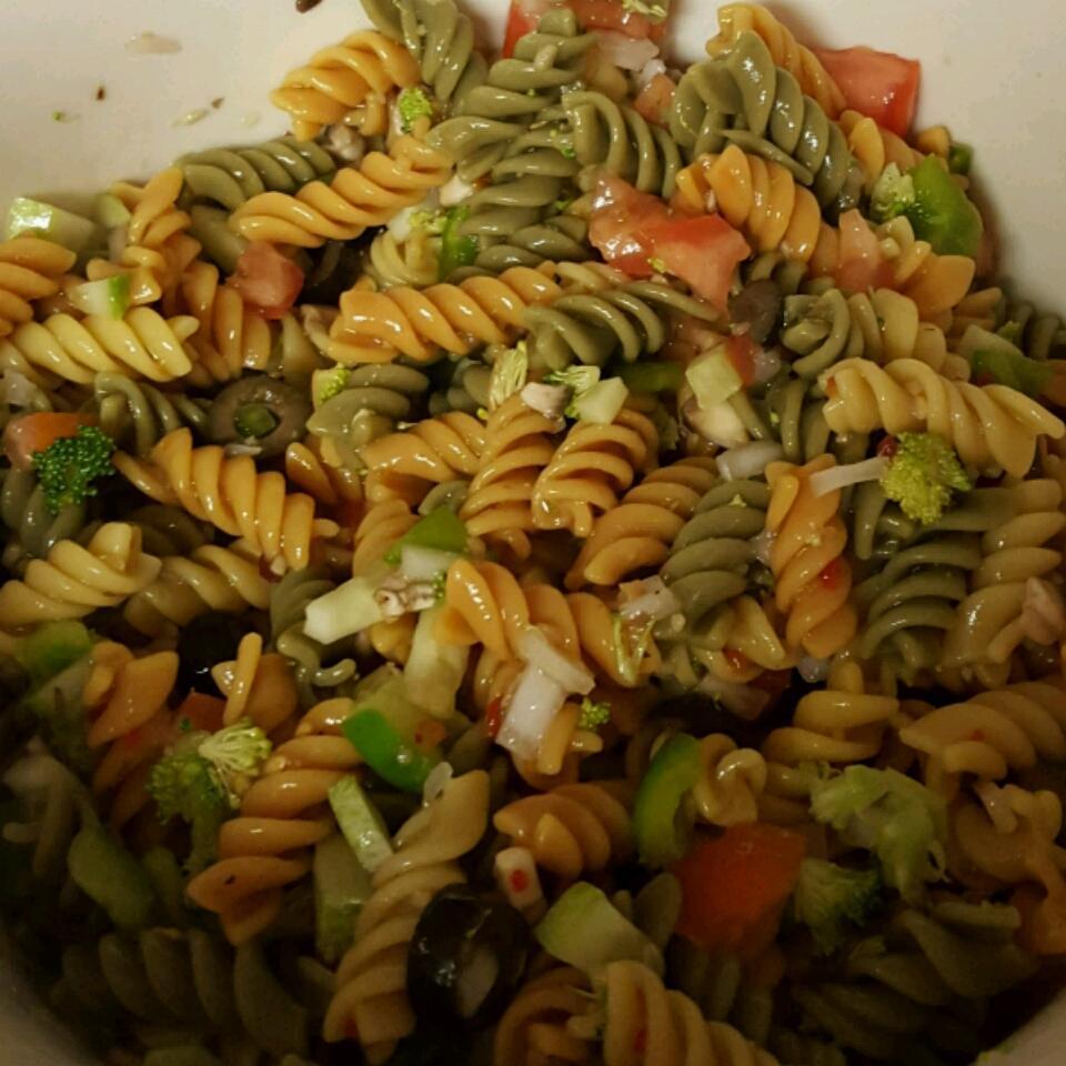 Rainbow Rotini Salad Jasmine Chambers