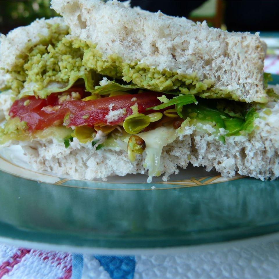 Cucumber Sandwich Escudete