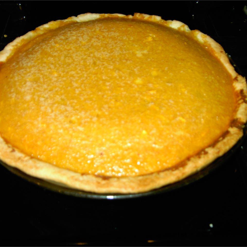 Vanilla Pumpkin Pie Luv2Cook