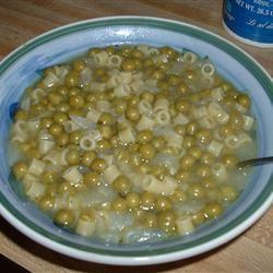 Peas and Macaroni Soup Maryann D.
