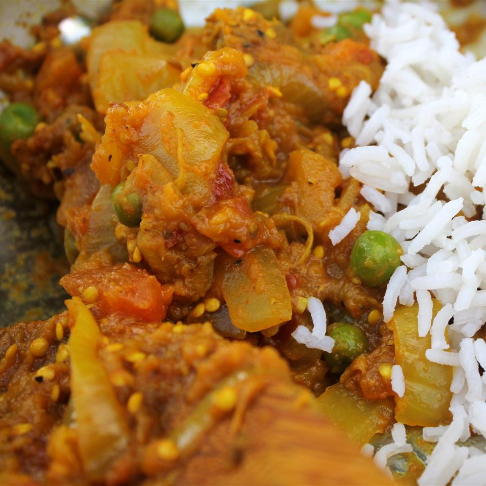 Indian Eggplant - Bhurtha
