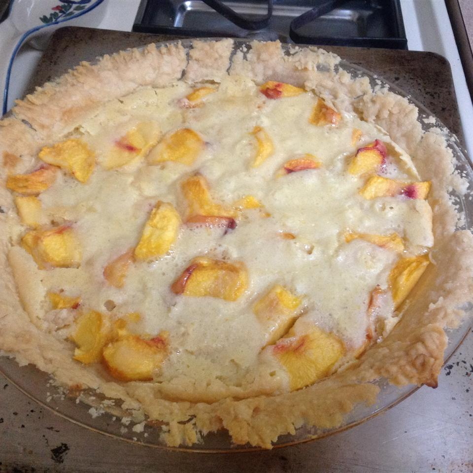 Peach Cream Pie I