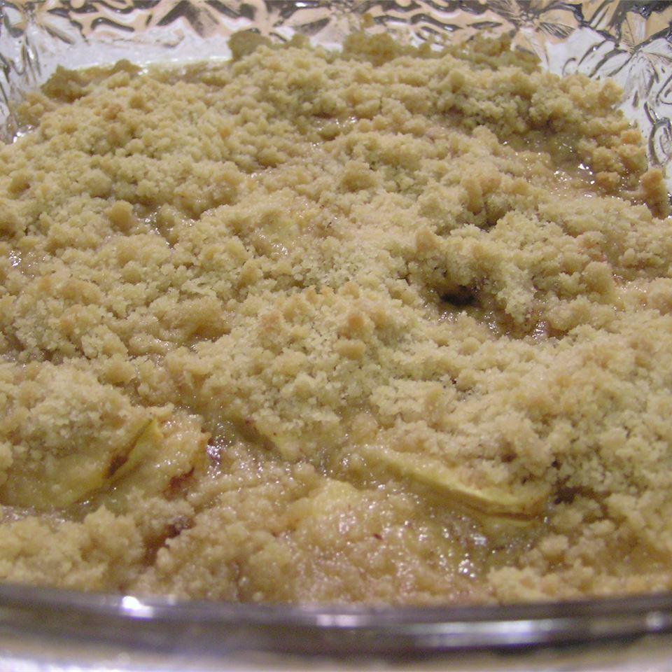 Easy Apple Crisp with Honey Tegarden
