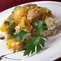 Apricot Chicken with Balsamic Vinegar Traci-in-Cali