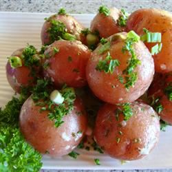 New Potatoes with Caper Sauce michellej