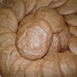 Applesauce Cocoa Cookies emglider
