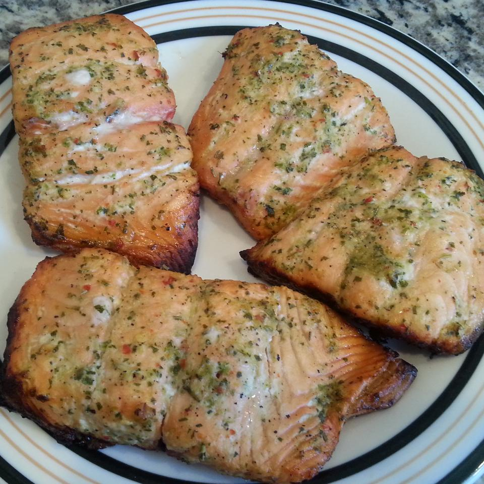 Grilled Salmon just_jam